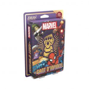 jeu de cartes dans l'univers Marvel