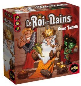 Le Roi des Nains est un jeu de cartes aux parties courtes et aux règles très simples.