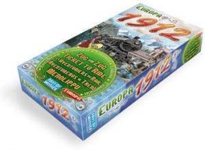 1912 est une extension pour le jeu de société Les Aventuriers du Rail Europe.