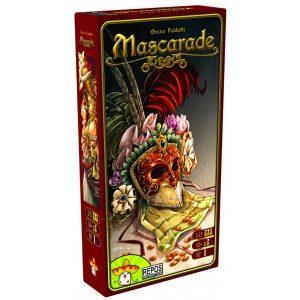 Mascarade est un jeu de cartes, de bluff et de mémoire.