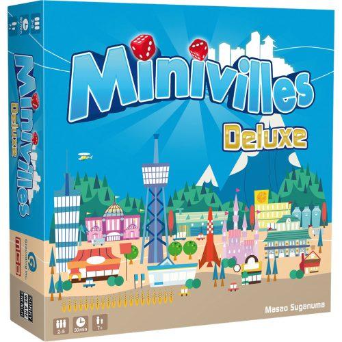 Minivilles est un jeu de cartesde construction de villes