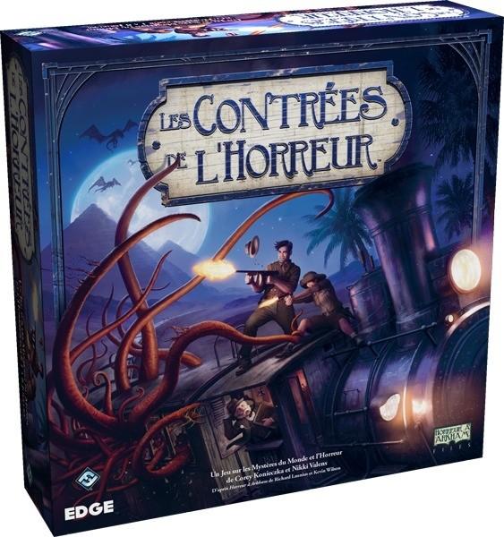 Les Contrées de l'Horreur est un jeu de plateau et de stratégie épique qui vous oppose à une créature ancestrale à la puissance incommensurable.