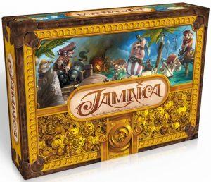 Jamaica est un jeu de plateau familial et amusant qui vous plonge dans une course de bateaux pirates !