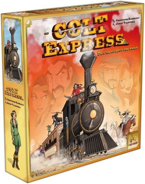 Colt Express est un jeu d'action et d'aventure original et amusant.