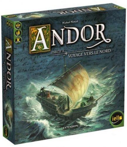 Voyage vers le Nord est une extension du jeu d'aventure et coopératif Andor.