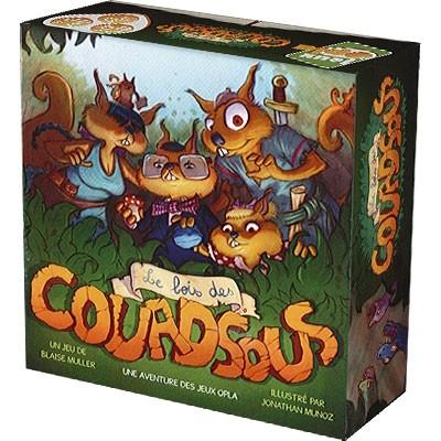 Le Bois des Couadsous est un petit jeu de société junior qui met votre mémoire à rude épreuve.