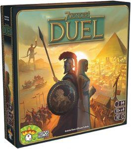 7 Wonders Duel est un jeu de cartes inspiré du jeu 7 Wonders.
