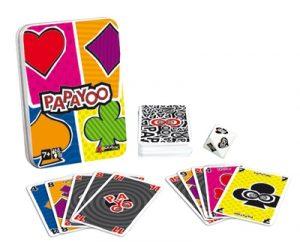 Papayoo est un jeu de cartes rapide et amusant dans lequel il vous faudra éviter les payoos.