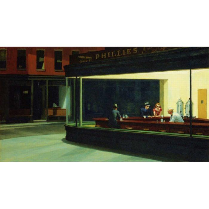 Puzzle Edward Hopper : Nighthawks