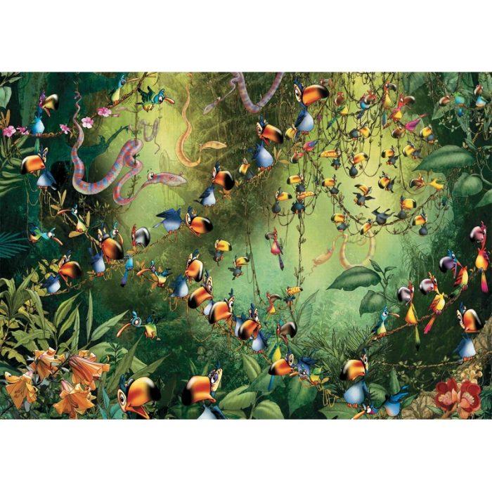 Puzzle Toucans