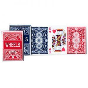 cartes Wheels poker