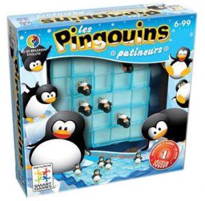 Pingouins Patineurs est un jeu de réflexion qui se joue seul et qui est accessible dès 6 ans.