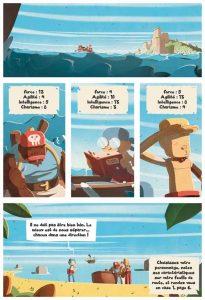 Pirates une BD dont vous êtes le héros.