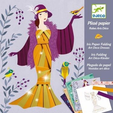 Plissé Papier : Robes Art Déco