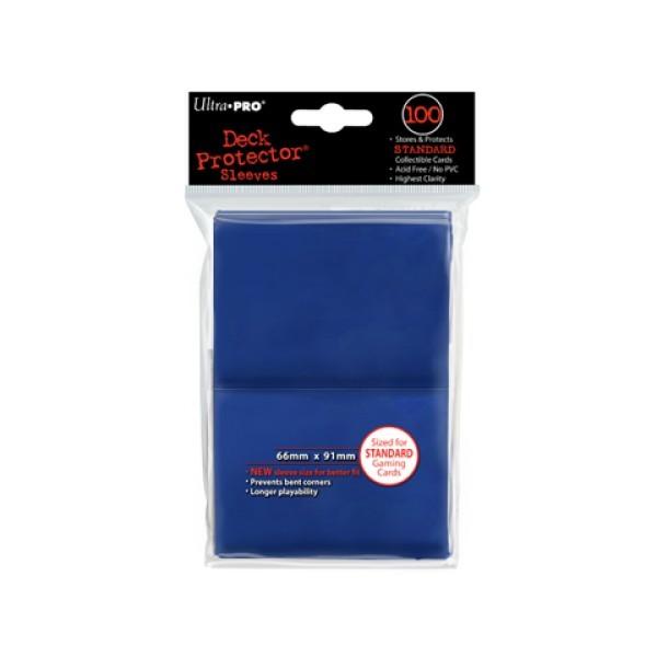 100 Protèges Cartes Bleu