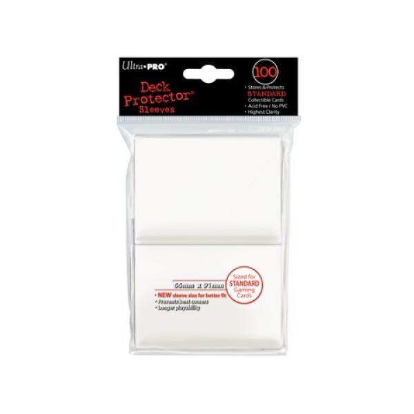 100 Protèges Cartes Blanc
