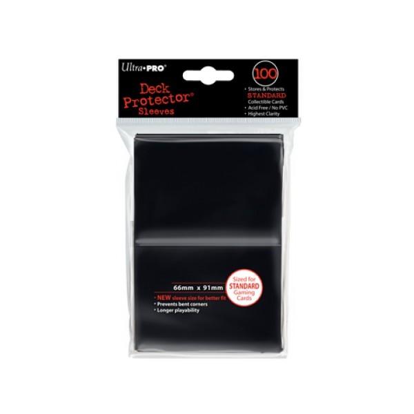 100 Protèges Cartes Noir