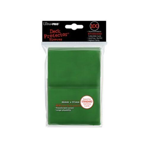 100 pochettes de plastique souple au dos opaque pour protéger des cartes au format Magic.