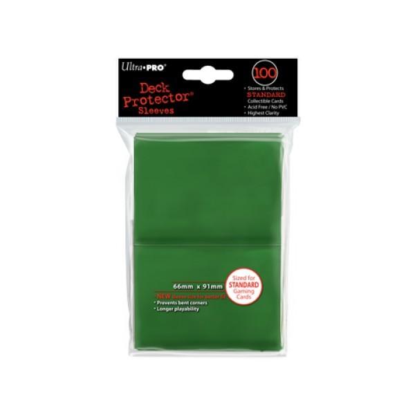 100 Protèges Cartes Vert