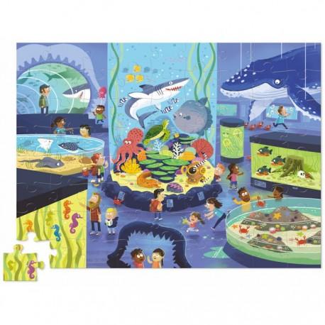 Puzzle une Journée au Musée : Aquarium