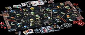 jeu de plateau dans l'univers star Wars