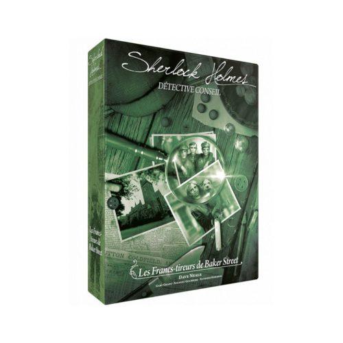 jeu d'enquêtes dans l'univers Sherlock Holmes