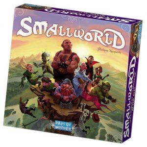 SmallWorld est un jeu de plateau et de conquête avec des règles simples mais une très grande profondeur stratégique.