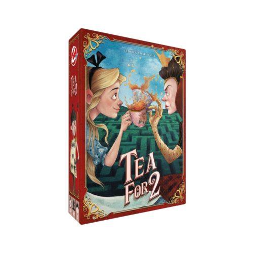 Tea for 2 est un jeu de cartes et de stratégie pour 2 joueurs.