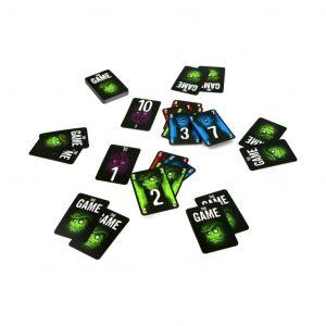 The game en vert est un jeu de cartes coopératif