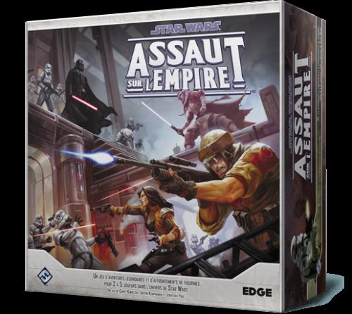 Assaut sur l'Empire est un jeu d'aventure épique pour 2 à 5 joueurs dans l'univers de Star Wars.